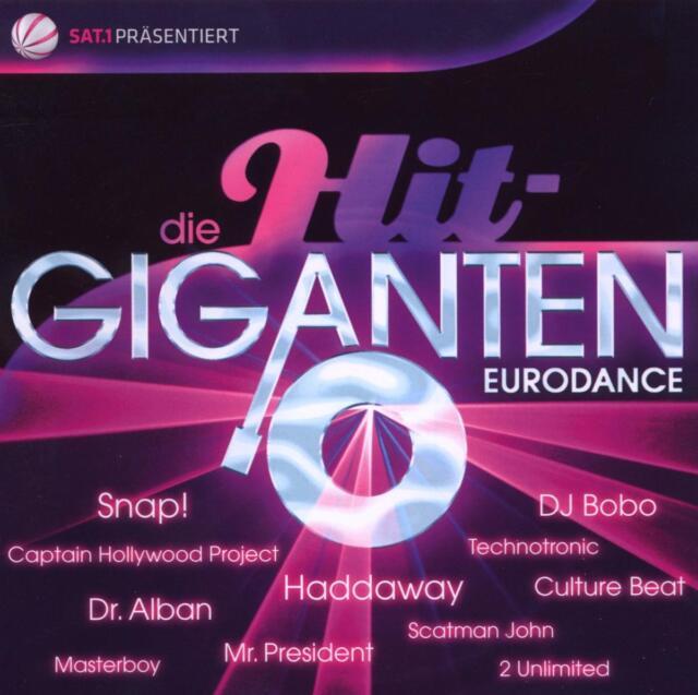 Various - Die Hit Giganten - Eurodance