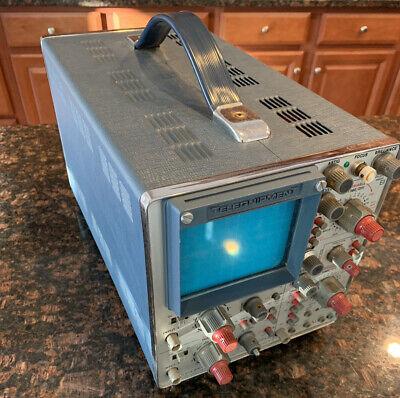 Vintage Telequipment D67 Oscilloscope - Tektronix - Dual Channel - Untested