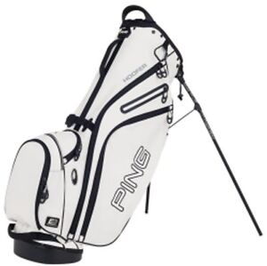 Karsten PING Golf 2013 Hoofer Carry Stand Bag White with Black Trim
