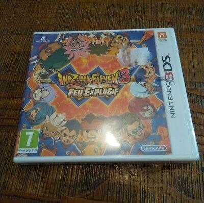 Jeux vidéo Nintendo Inazuma Eleven 3 - Feu Explosif Jeu 3DS