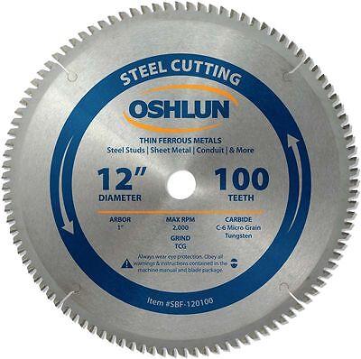 Saw Blade Circular Metal Cutting 12 X 1 X 100t
