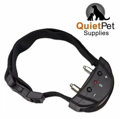 No Bark Dog Collar No Shock for Dogs 7 lbs. & Up by Quiet Pet Supplies - Device,