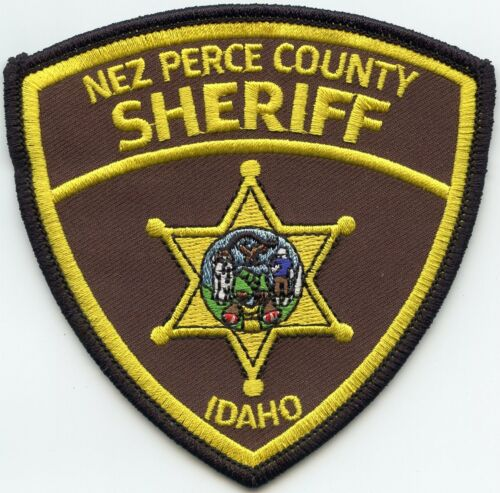 NEZ PERCE COUNTY IDAHO ID SHERIFF POLICE PATCH