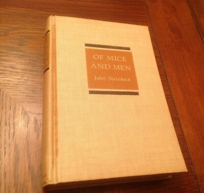 John Steinbeck   Of Mice And Men  1937 First Edition