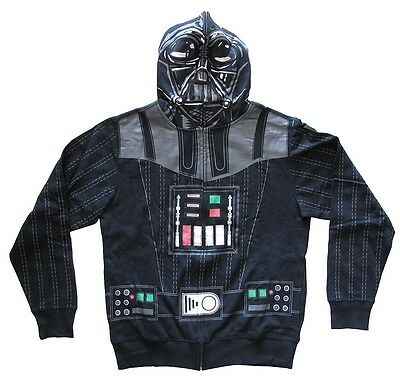 Star Wars Darth Vader Men's Costume Hoodie - Star Wars Costume Hoodie