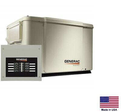 Standby Generator - Residential - 7.5 Kw - Ng Lp With 50 Amp Transfer Switch