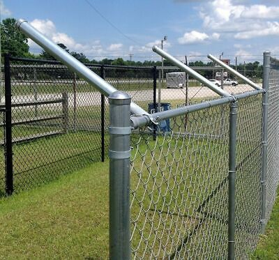 Extend-a-post - Post Extensions For Chain Link Fence - Set Of 9 Size 1-38