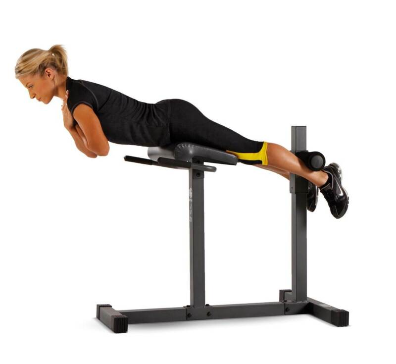 Marcy Roman Chair Hyper-Extension Abdominal and Back Home Workout Bench | JD-3.1