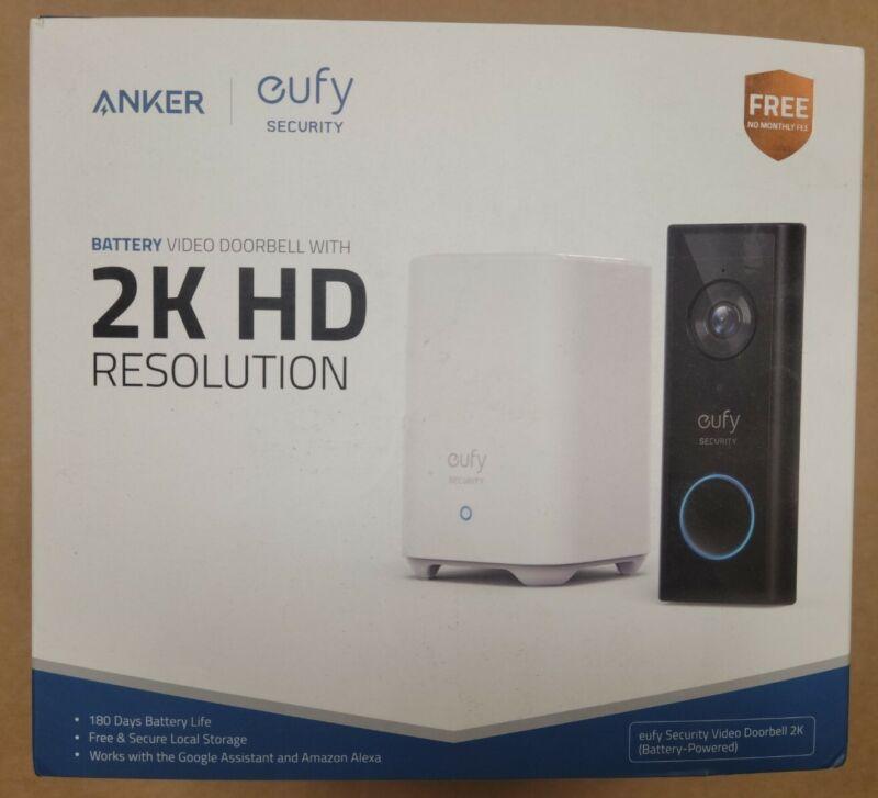 Smart Wi-Fi 2K Video Doorbell -Eufy
