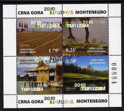 Montenegro 239/42 o MH-Blatt Tourismus (419)