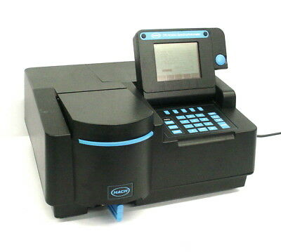 Hach Dr4000 U Spectrophotometer Uvvisible Spectrum 190-1100nm 115vac 2