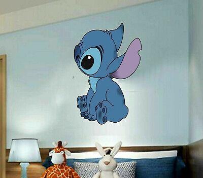 Lilo And Stitch Decorations (Stitch, Lilo and stitch 3D Window Decal WALL STICKER Home Decor Art Mural)