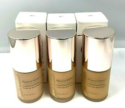 Jane Iredale Beyond Matte Liquid Foundation 27ml/.9fl.oz. New; You Pick! -