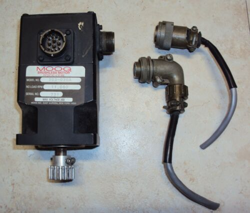 MOOG - Brushless Motor Model: 303-030A, NO Load RPM, 11,000, Max volts 350V