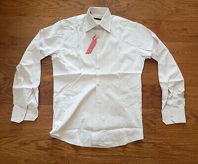 VINTAGE Gucci Mens Long Sleeve Dress Shirt Button Front Light Pink Size 15 / 38