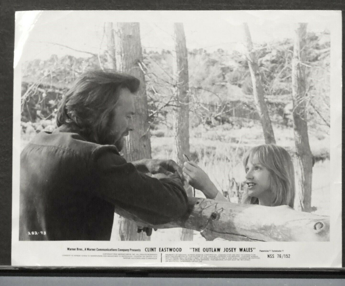 Clint Eastwood In THE OUTLAW JOSEY WALES 1976 Movie Still - $5.95