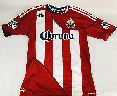 MLS Chivas USA Adidas 2010 Blair Gavin Player Issue Home Soccer Jersey Size L Chivas Usa Soccer Jersey