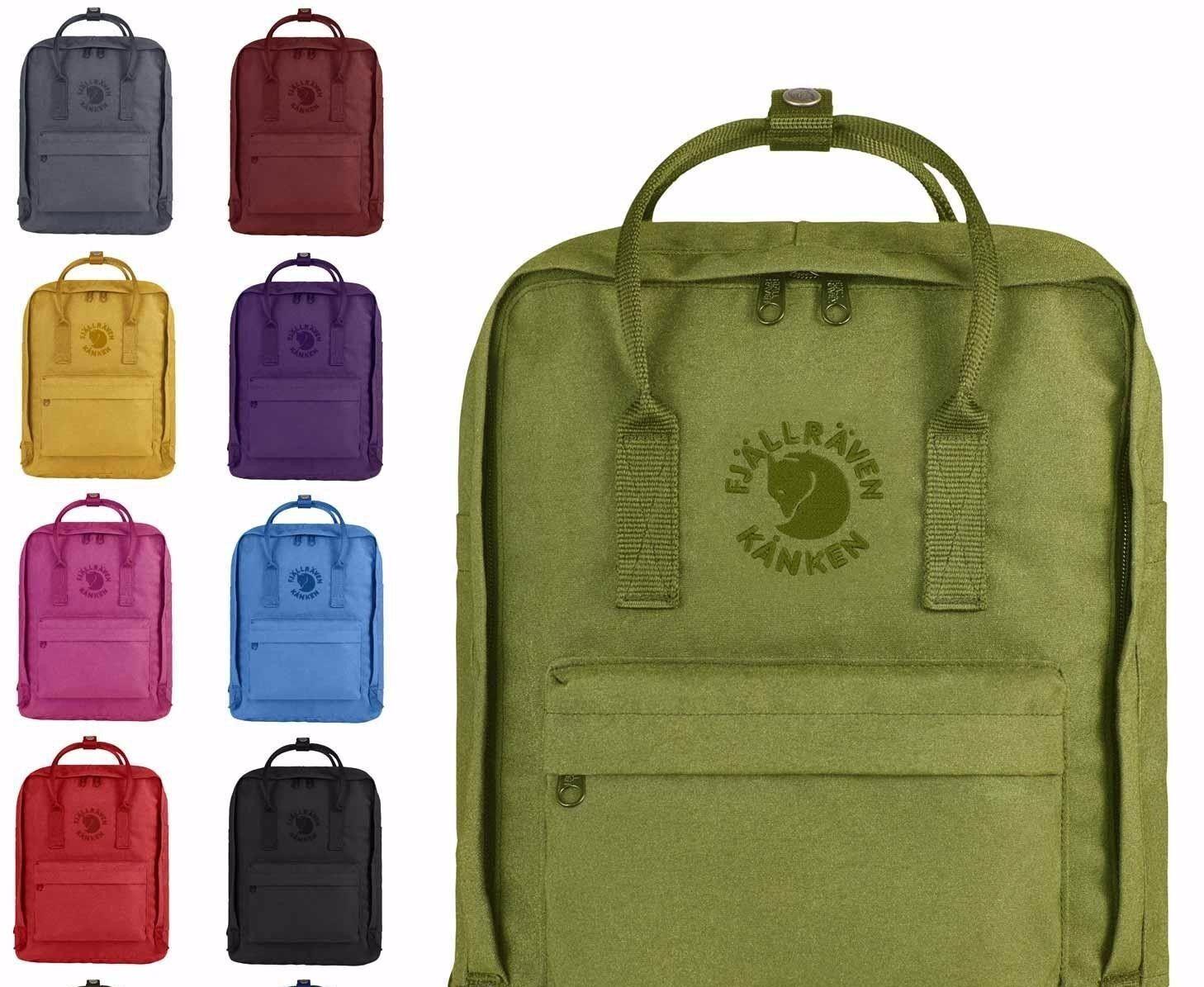 New Women Men Fjallraven Re-Kanken 23548 Backpack