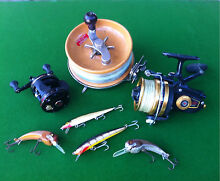 Buying Fishing lures reels tackle Flagstaff Hill Morphett Vale Area Preview