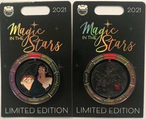 Disney Parks 2021 Disneyland Magic In The Stars Hunchback of Notre Dame LE Pin