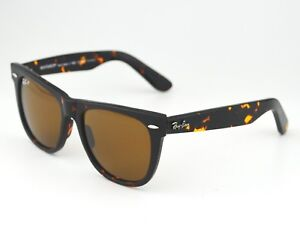 0414b4e79c185 Ray Ban RB2140 Original Wayfarer Classics 902 57 Tortoise Frame  Polarized  Brown