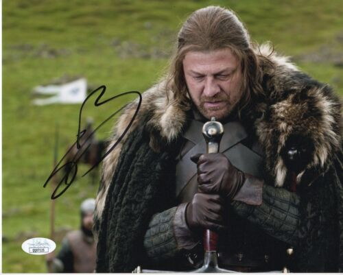 Sean Bean Game of Thrones Autographed Signed 8x10 Photo COA JSA