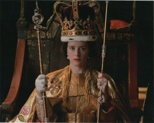 Claire Foy The Crown Autographed Signed 8x10 Photo COA #MR457