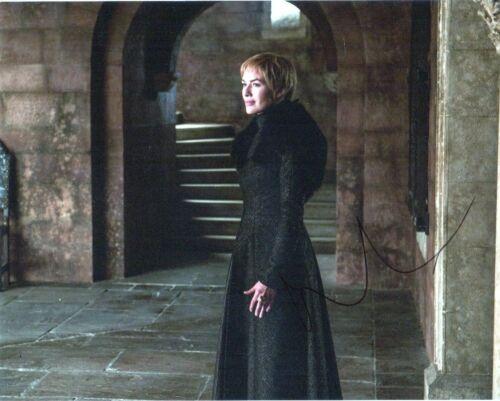 Lena Headey Game of Thrones Autographed Signed 8x10 Photo COA EF703