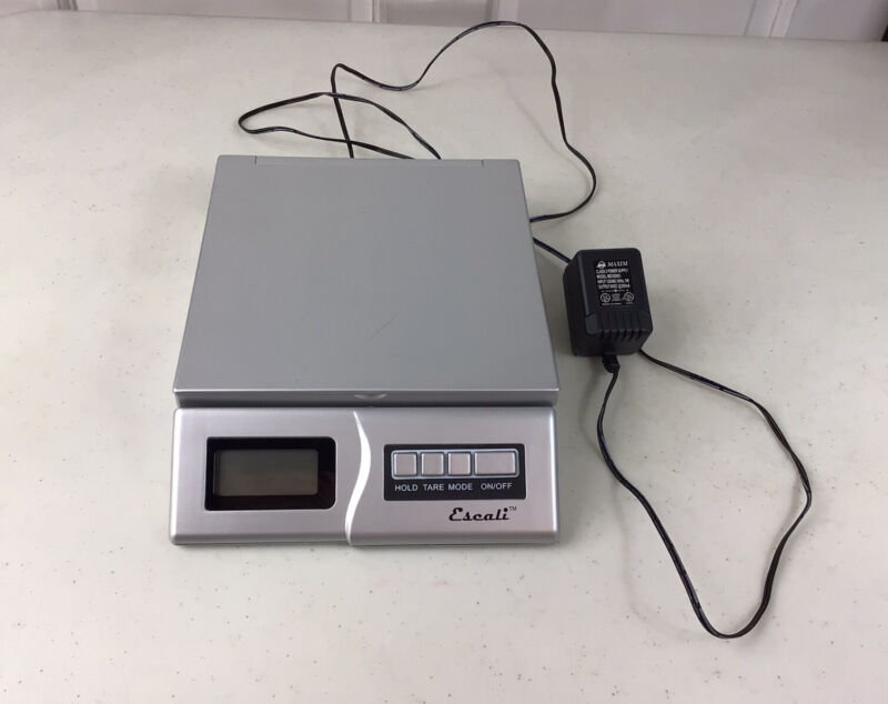 Escali Digital Scale Electric & Batteries