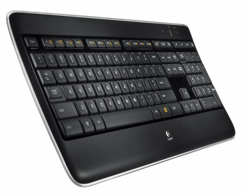 Logitech K800 Backlit Illuminated Wireless Keyboard