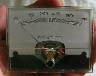 Yokogawa D-c Voltmeter 0-75 2943-425