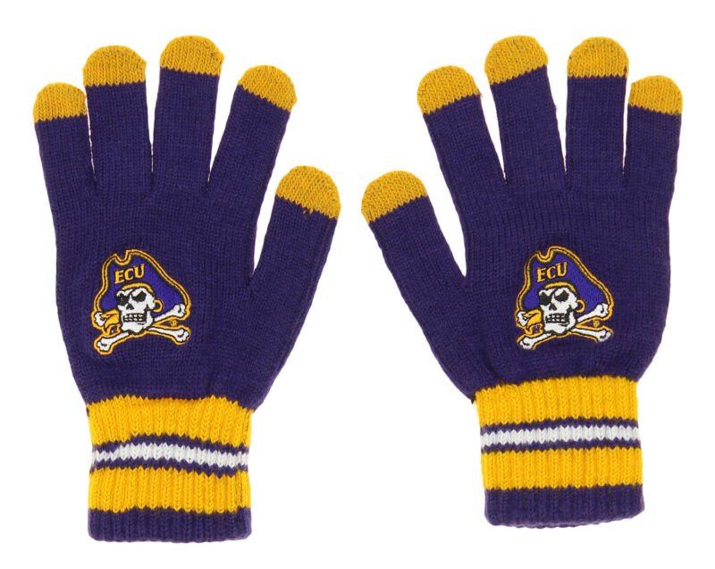 Outerstuff NCAA Youth (8-20) East Carolina Pirates Touch Screen Go Gloves, OS