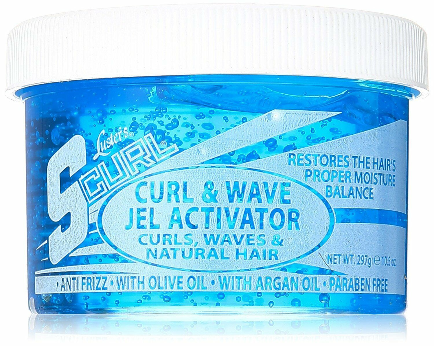 Luster's Scurl Curl & Wave Gel Activator for Curls Waves and