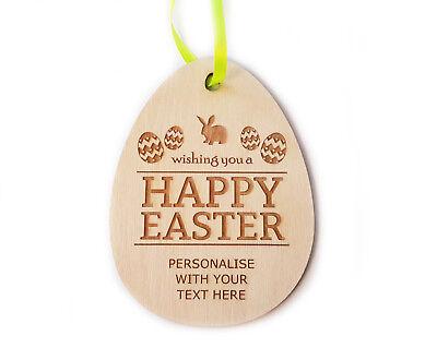 Geschenk für Ostern - personalisiert Osterei Wandbehang Dekoration