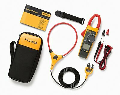 Fluke 376 Fc 1000a Acdc Trms Wireless Clamp W Iflex And Fluke Connect