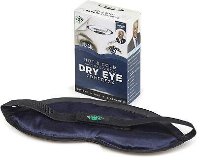 The Eye Doctor Mask Essential Hot Cold Dry EYE Compress Heat Bag Blepharitis MGD