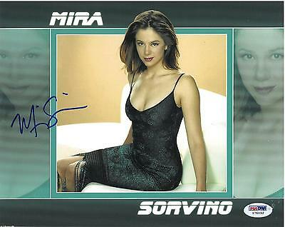 Mira Sorvino Signed Authentic Autographed 8X10 Photo  Psa Dna   I76492
