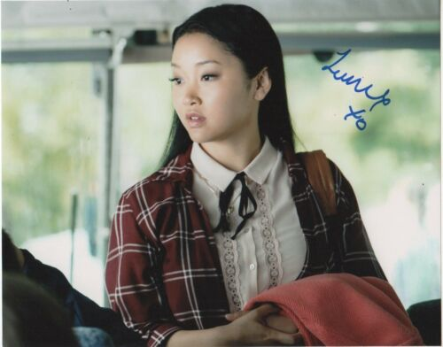Lana Condor To All The Boys Autographed Signed 8x10 Photo COA R1V