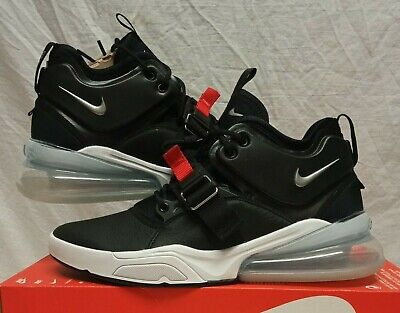 NIKE AIR FORCE 270 BLACK WHITE AH6772-001 TRAINERS SIZE 7.5 EUR 42...
