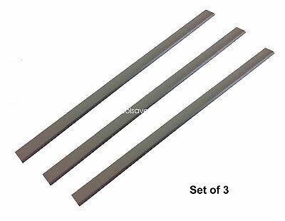 13 Hss Planer Jointer Knives For Delta Rc-33 Dc-33 Rockwell - 3 Pack