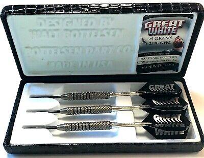 BOTTELSEN Great White Steel Tip Darts 21gr dart 2192GW7