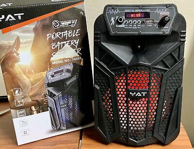 Bluetooth speaker 4000w P.M.P.O YAT Rechargeable Fm/usb/mic Port .Best Quality