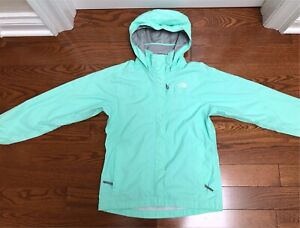 Genuine North Face wind breaker jacket Turquoise XS