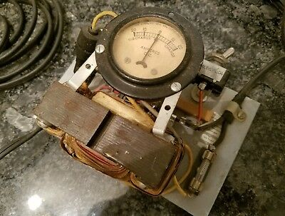 Sterling Mfg. Co. 20-0-20 Dc Amperes Dc Meter Nos Triwec Transformer