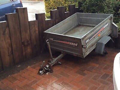Erde 122 camping car trailer used but good condition