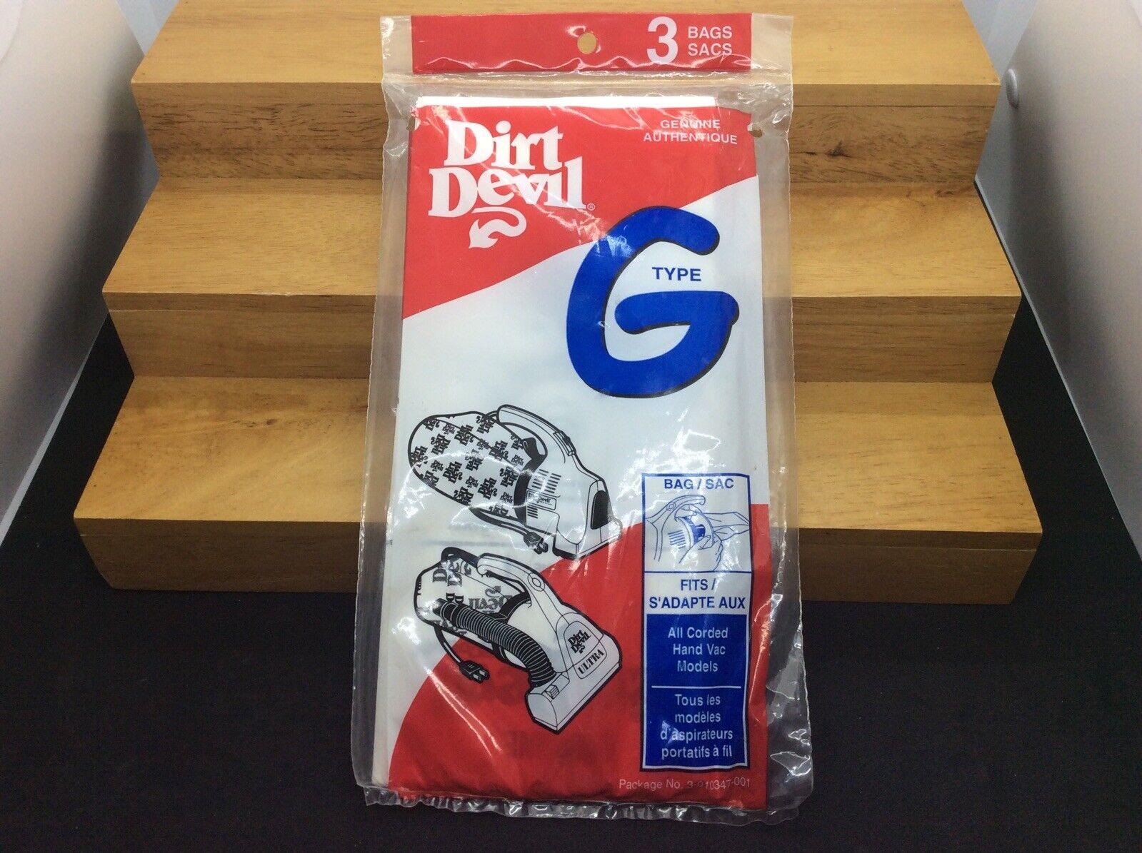 Dirt Devil Royal Vacuum Bag Style G Fits Royal Peggable Poly