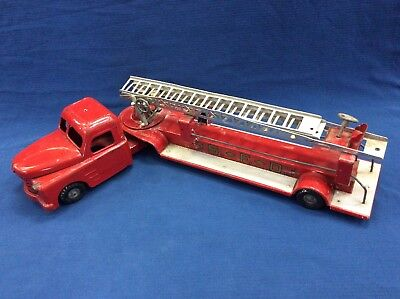 Structo Toys Steel Ladder Fire Truck for sale  Shipping to Canada