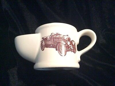 Vintage Wade Ceramic Shaving Mug. Bentley speed. Six (supercharger.) 9x19cm for sale  Shipping to Ireland