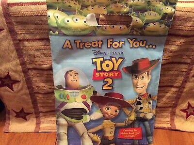 Disney Pixar Toy Story 2 Video Promo Bag Puzzle, Mask, Tattoos Color Sheet](Pixar Tattoo)