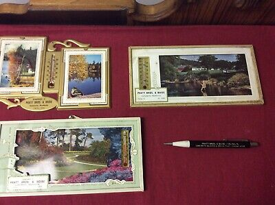 4 Vintage Advertising Pieces From Pratt Brothers & Boise In Celina, Ohio
